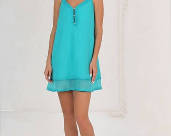 Dress-bell turquoise