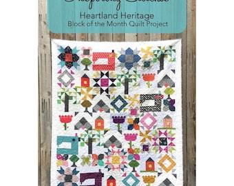 Inspiring Stitches 2018 QUILT Calendar for Heartland Heritage Quilt Amy Ellis