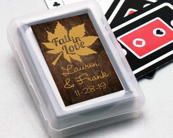 12pcs Fall in Love Personalized Playing Cards - JM9545363-FC6704