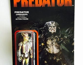 Predator (Unmasked Version) Action Figure