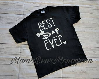 Best day ever Disney family vacation shirt, Matching Family Vacation Disney shirts,Personalized disney shirts, Disney shirt, Vacation Disney