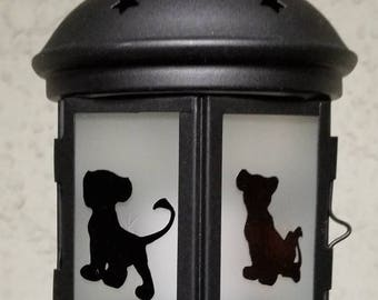 Small Handcrafted The Lion King Lantern With Electronic Candle