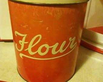 Vintage flour tin by Regency Ware.