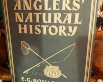 British Anglers Natural History book by Collins 1955