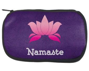 Namaste Lotus Flower Pencil Pouch