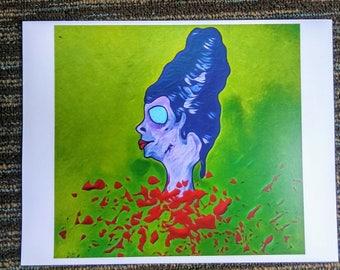 Decapitated Woman Print