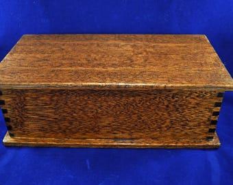 Solid Mahogany Wooden Box