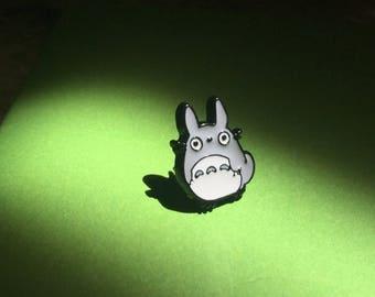 Totoro hat pin