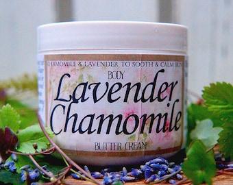Lavender Chamomile Organic Butter Cream for Body