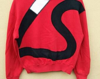 Super Rare!!! Vintage Issey Miyake sweatshirt Big Logo Spell Out / Japanese designer crewneck / Japanese Brand jumper Issey Miyake