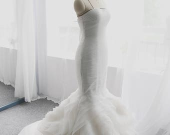 LS7/ Rosemary/ Mermaid/ Snow white- 3D Wedding Dress Collection