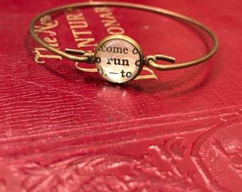 Run Bangle Bracelet