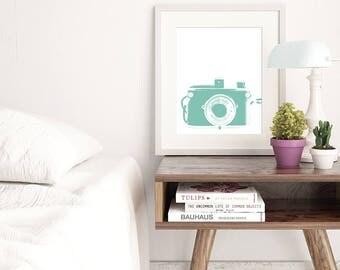 mint green decor | etsy