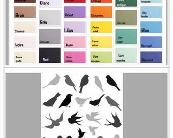 Cut 20 birds