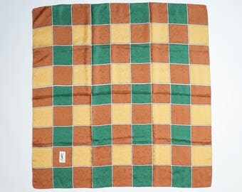 YVES SAINT LAURENT - silk scarf