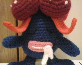044 Gloom Pokemon Amigurumi Plush