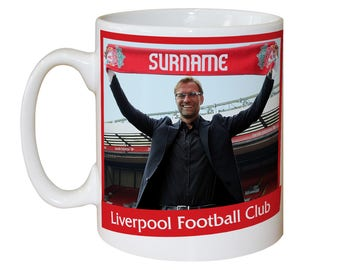 Liverpool FC Personalised Manager Mug