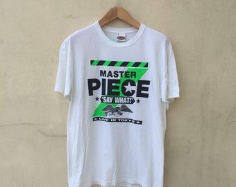 Masterpiece Japan Streetwear Tshirt