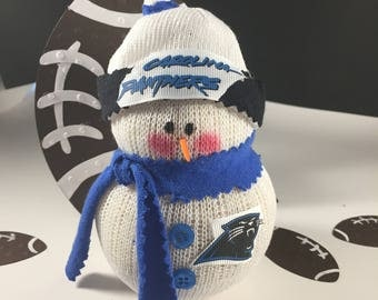 Carolina Panthers,Snowman,Gift for Panthers fan,Panthers fan gift,NFL,NFL Panthers,Panthers clothing,Football,Football fan gift,Panthers