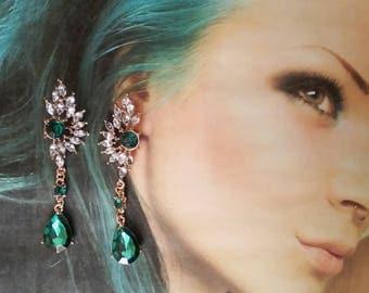 earrings Crystal Wings