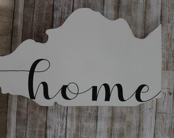 Illinois Home Sign