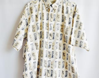 Shirt Vinage pineapples