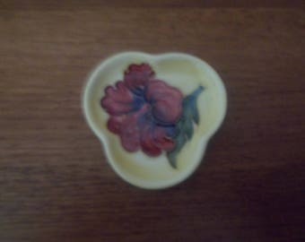 Moorcroft Hibiscus Pin Dish