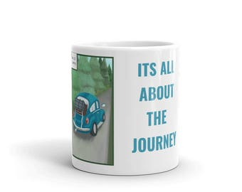 I's all about the 10. Journey - Mug