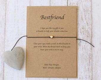 Best Friends, Tie on Bracelet, Ladies Bracelet, Friends, Friendship, Best Friend, Bracelet, Jewellery, Wish Bracelet, Jewellery. BFF