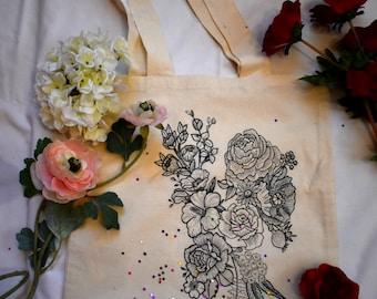 Flower Power Tote Bag
