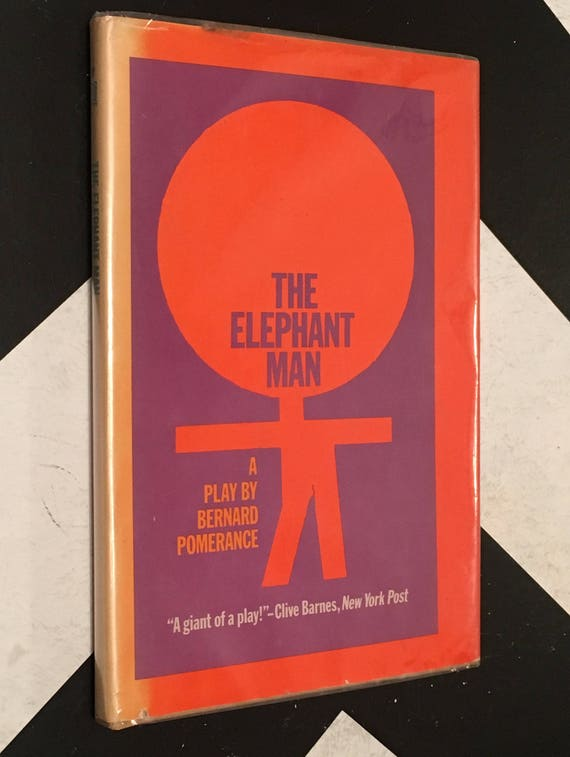 The Elephant Man: A Play by Bernard Pomerance vintage classic book (Hardcover, 1979)