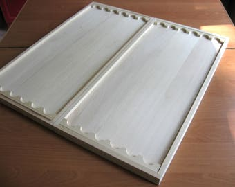 Workpiece for backgammon.A large box for backgammon, for woodcarving + drawing by e-mail.