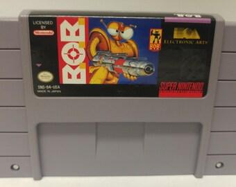Super Nintendo B.O.B Game Authentic