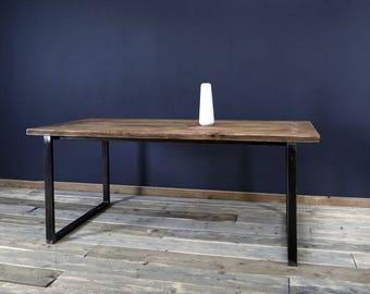 Dining table made of timber, Erik 2, 180 x 96cm