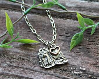 Maltese Necklace, Maltese Jewelry