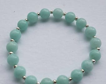 Aventurine bracelet,  chakra balancing, healing. Can be reiki charged on request