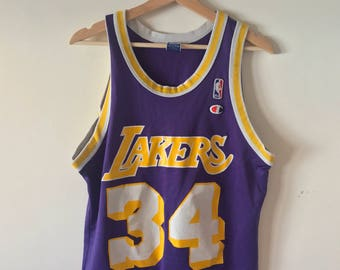 Vintage Shaquille O'Neal Champion Jersey