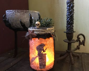 Primitive Light Jars