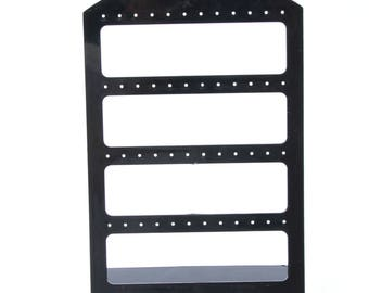 Earrings Display Stand, Jewelry Holder,Jewelry Show Case,Jewelry Organizer,Earrings Organizer,Jewelry Stand,Jewelry Display,Black,WORLDWIDE