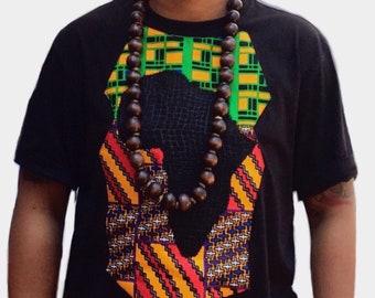Men's Africa Kente Tee