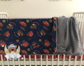 Disney Cars Blanket Cars Toddler Bedding Disney Crib Blanket Cotton Minky Blanket Girl Crib Bedding Disney Crib Bedding Toddler Crib Bedding