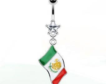 Mexico Belly Ring