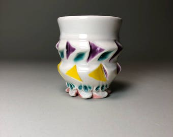 Festive porcelain Shot Glass Saki Glass