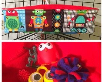 Sugar Glider toy box/bed (robots)