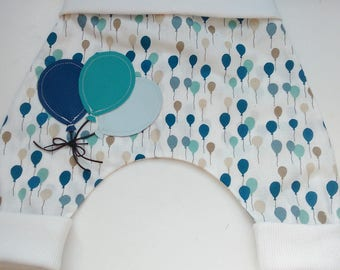 """Baby harem pants cotton """"Balloons"""" joint comfort"""