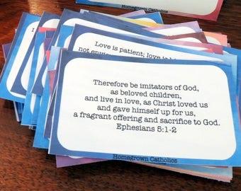 Catholic Scripture Cards PDF