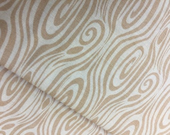 Serenade Fabric by Kate Spain Pattern 27116 13 - Moda Fabrics Wood Grain in Wheat CT109493 100 Percent Quality Cotton Yardage Rare and OOP