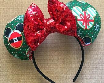 Christmas Cookie Mickey Ears