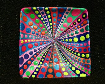 Colorful little plate
