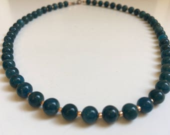 Apatite Necklace (Bead Collection)